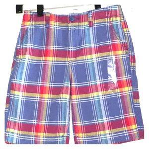 GAP NWOT boys size 10 plaid shorts